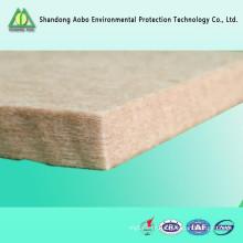 Feutre dur ignifuge de polyester pour l'isolation saine de construction