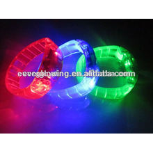Bracelet LED arc-en-ciel vente chaude 2017