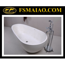 New Fashion Solid Surface Freestanding Bathtub (BS-8608)