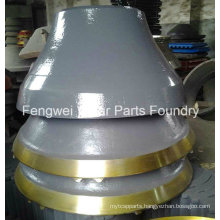 High Manganese Steel Cone Crusher Bowl Liner