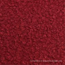 60% Polyester 40% Laine de pardessus Toile de laine