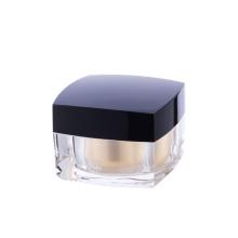 5/15/30/50ml High-grade acrylic cream jar,Square face cream jar Acrylic cosmetic bottle