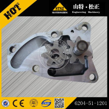 KOMATSU PC60-7 pompe à huile 6204-51-1100