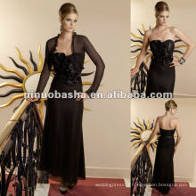 Sweetheart Chiffon Pleated Mother of Bride dress
