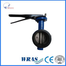 Top quality best selling 304stainless steel butterfly valve dn50