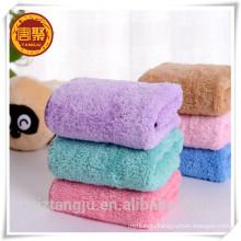 350 gsm coral fleece microfiber towel, dual plush towel ,kitchen towel