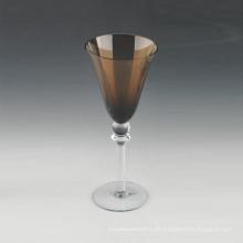 Großhandel 320ml Amber Stem Weinglas in loser Schüttung