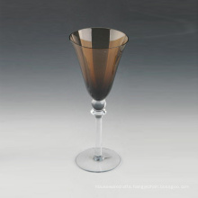 Wholesale 320ml Amber Stem Wine Glass in Bulk