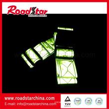 Cinto de cintura refletiva de segurança ajustable
