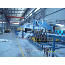 Continuous PU sandwich panel making machine line