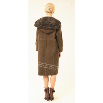 가역 스페인 Merino Shearling Coat