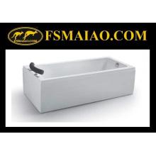 Baignoire de massage acrylique autonome pour salle de bain (BA-8707)