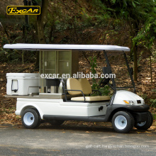 Hot sale electric vehicle 48V food cart 2 seats utility buggy car