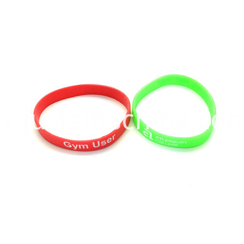 Promotional Printed Silicone Wristbands-250122mm