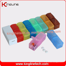 Latest Design Plastic 14-Cases Pill Box (KL-9141)