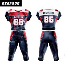 2016 de alta qualidade sportswear camisa de futebol americano