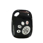 Wireless Bluetooth Selfie Zoom Remote Control Shutter for iPhone Samsung or Other Phone
