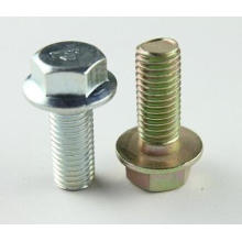 Carbon Steel Torq flanged head bolt m6 din6921 flange bolts and nuts