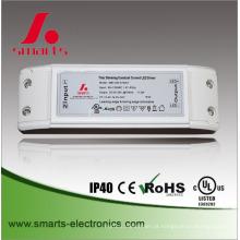 fontes de alimentação dc do excitador da iluminação do diodo emissor de luz do dimmable de 500ma 700ma 900ma 20v do triac