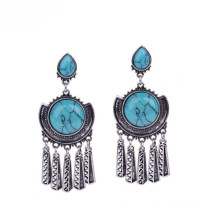 2015 Fashion Turquoise Vintage Boho Ethnic Earring for Women