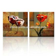 Home Mercadorias Wall Art Canvas Pintura / Modern Flower Pintura Canvas / Pintura Arte