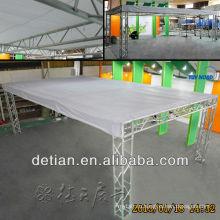 Лучшая цена гибридный дисплей будочки торговой выставки экспоната в Шанхае