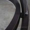 Drei runde dekorative Aluminium Acryl Globe Track Pendelleuchte