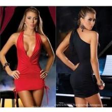 New Sexy V-Neck Dress Sleepwear