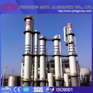 Напиток этаноловый спиртовой завод, дистилляционная колонна Съедобный спирт