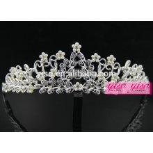 Nouvelle conception cheveux bijoux diadais de cheveux tiara nuptiale