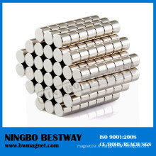 D70 Aimant de cylindre de disque Néodyme