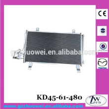 Mazda CX5 Accessories Radiator Condensor Car Condensor for Engine 2.0 2.5 KD45-61-480 KD45-61-480A