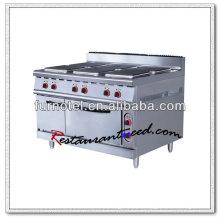 K240 Four et cuisinières électriques en céramique 6 plaques chauffantes