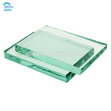 Heat resistant laminated tempered glass 19mm Table Tops with Round Corners R100mm