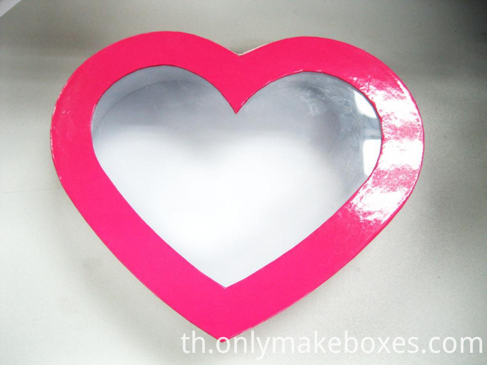 Pink Heart Shape