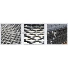 Folha de metal perfurada flexível / folhas perfuradas sextavadas (fábrica)