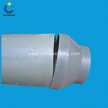 Plastic pp pipe reducer for pipeline system