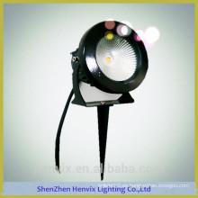 Alto lumen al aire libre 110 voltios de alta calidad llevó la luz del poste de iluminación del jardín