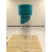 Красочная спортивная бутылка Infuser для воды с водой Tritan