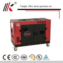 YANGKE(Китай) 10кВ переменного тока 380V выход АЦ панели Твиновский двигатель с воздушным охлаждением Двигатель: дизель генератор 10 кВт дизель-генератора