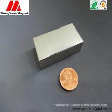Спеченный постоянный огромный блок NdFeB неодимовый магнит для двигателей