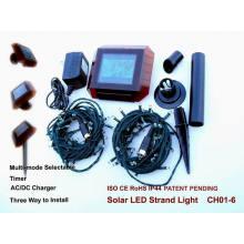 Weihnachtsdekoration Solar-Lichterkette mit CE- und RoHS-Zertifizierung