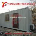 Precio de la casa del envase prefabricado incombustible de la instalación fácil del bajo costo