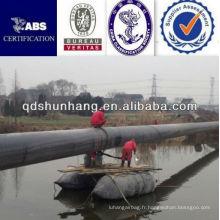 Certificat CCS gonflable flottant dans le ponton en caoutchouc de l'eau