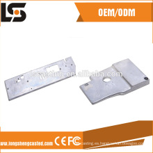 Los accesorios de aluminio del OEM para la máquina de coser industrial a presión piezas de la fundición