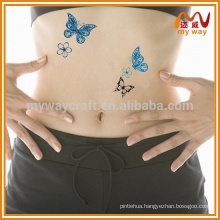 hot-selling customized butterfly temporary tattoo for party decor