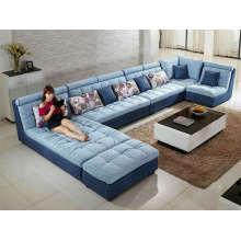 Новый стиль, большое U форму ткань диван (W11)