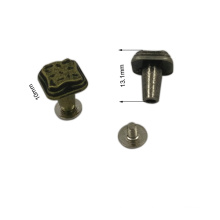 Dongguan Hardware Customized Antique Finshing Metal Rivet Screw