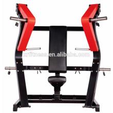 equipo de gimnasia cargado en placa / nueva prensa de pecho Iso Isolate lateral