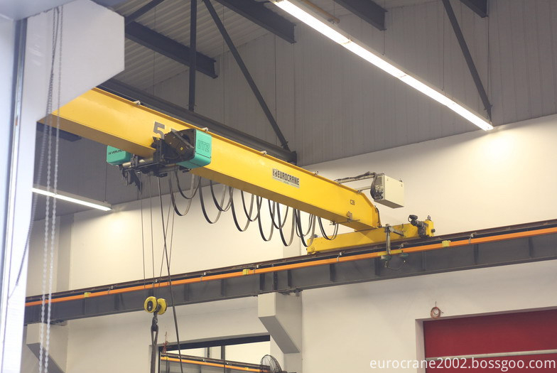 Eurocrane 5t Single Girder رافعة علوية